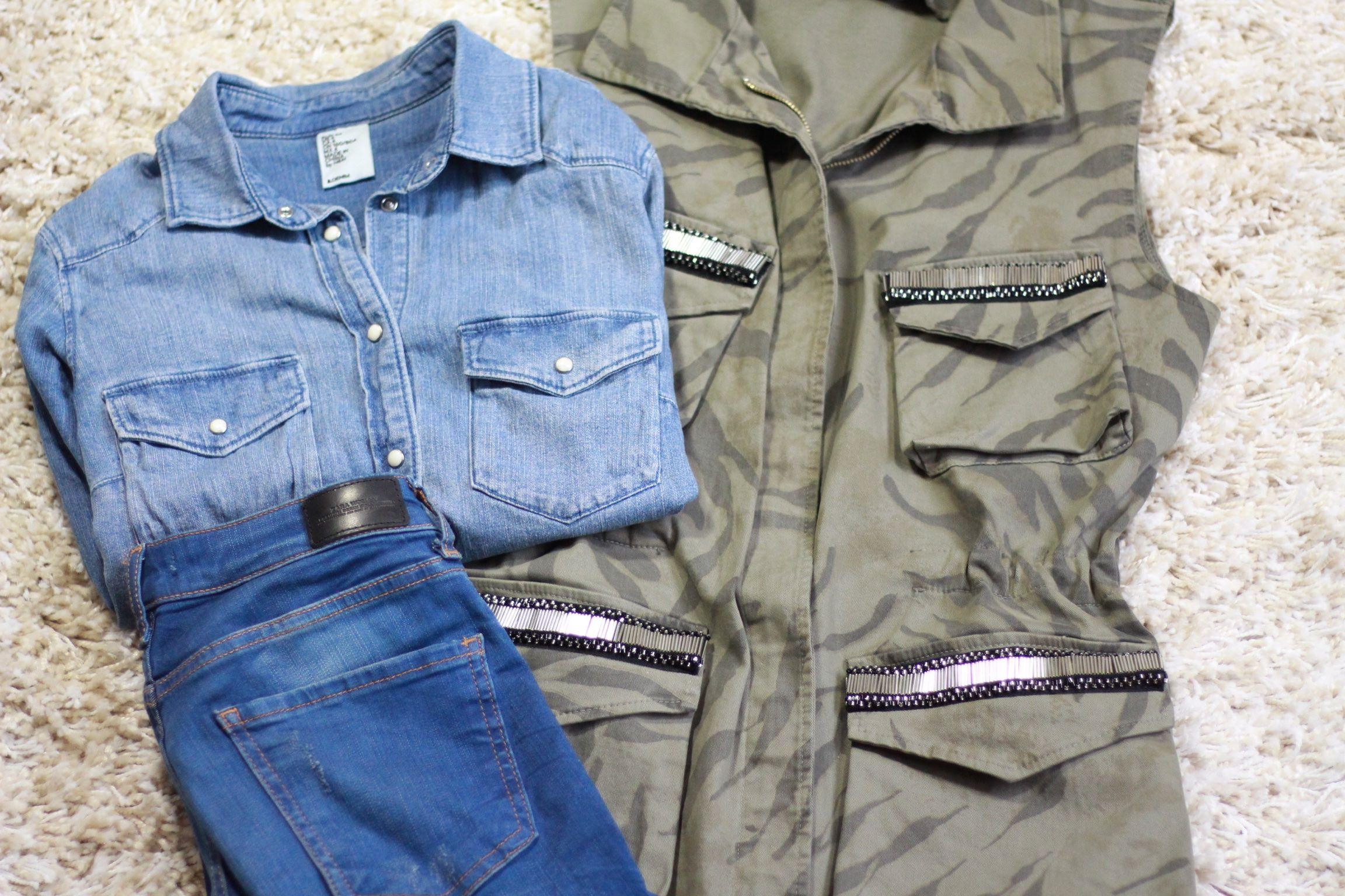 Meine März Favoriten u.a. Jeans von Zara und Weste von Loé Mode Freiburg