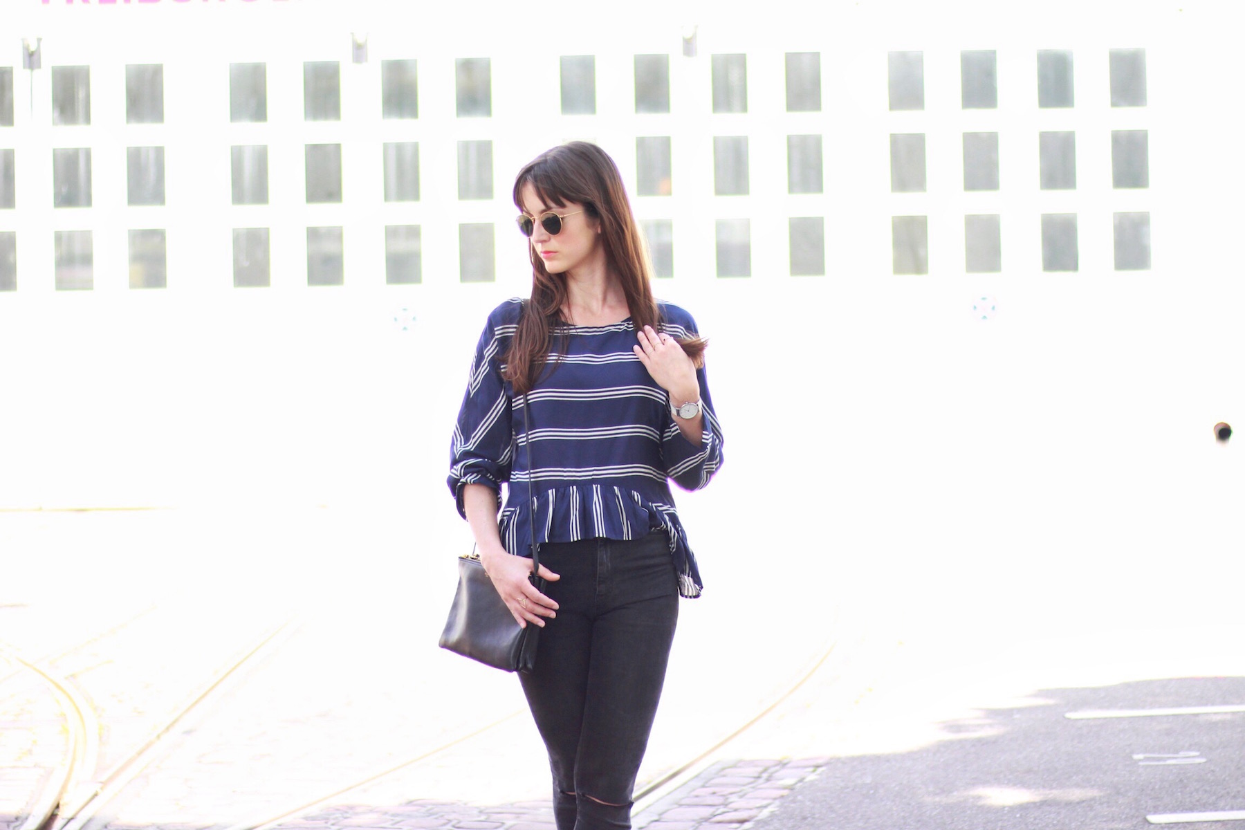 Chanel Look Alikes im Two Tone Stil Slingback Pumps der Modetrend auf allen Modeblags 2016