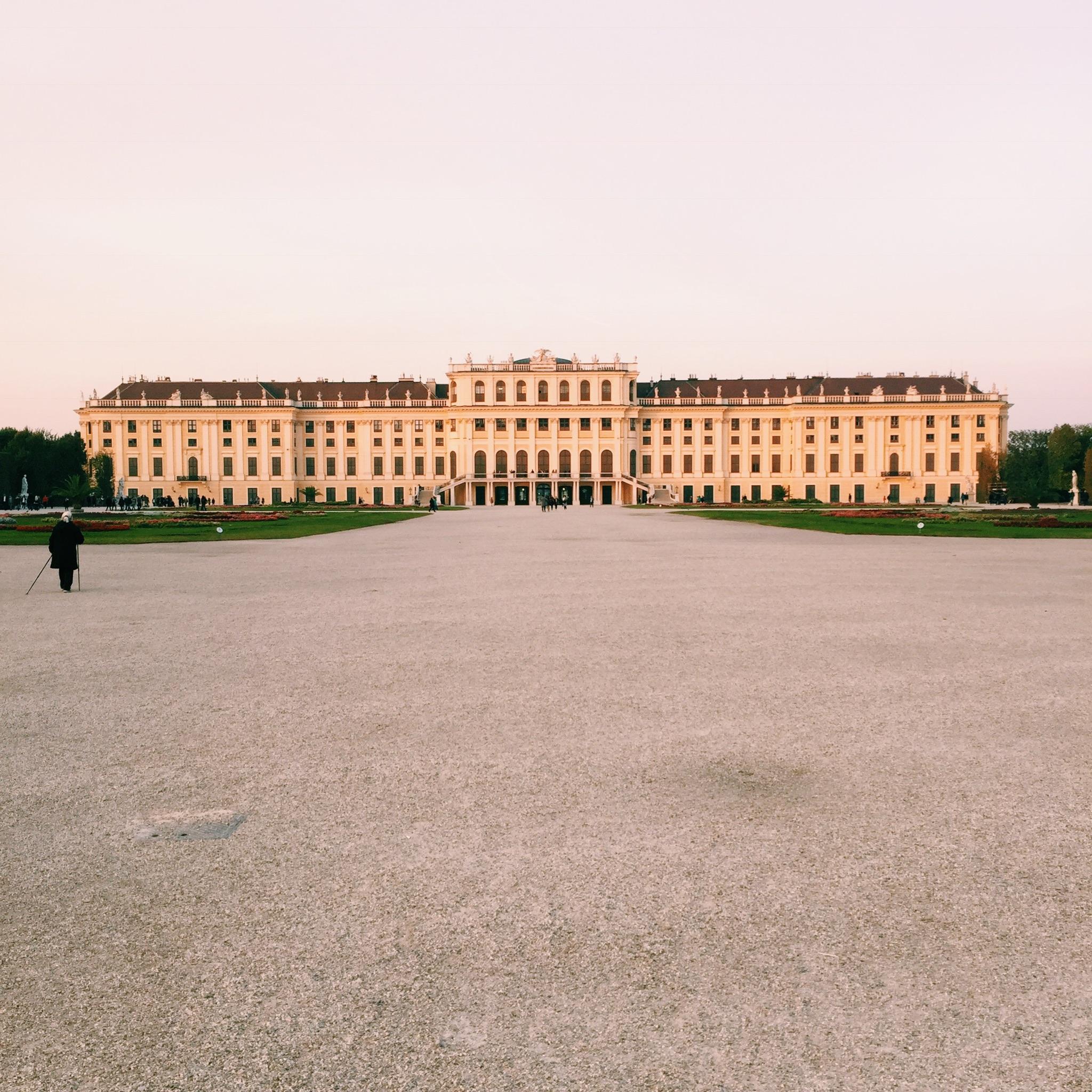 Die Modebloggerin besucht Wien