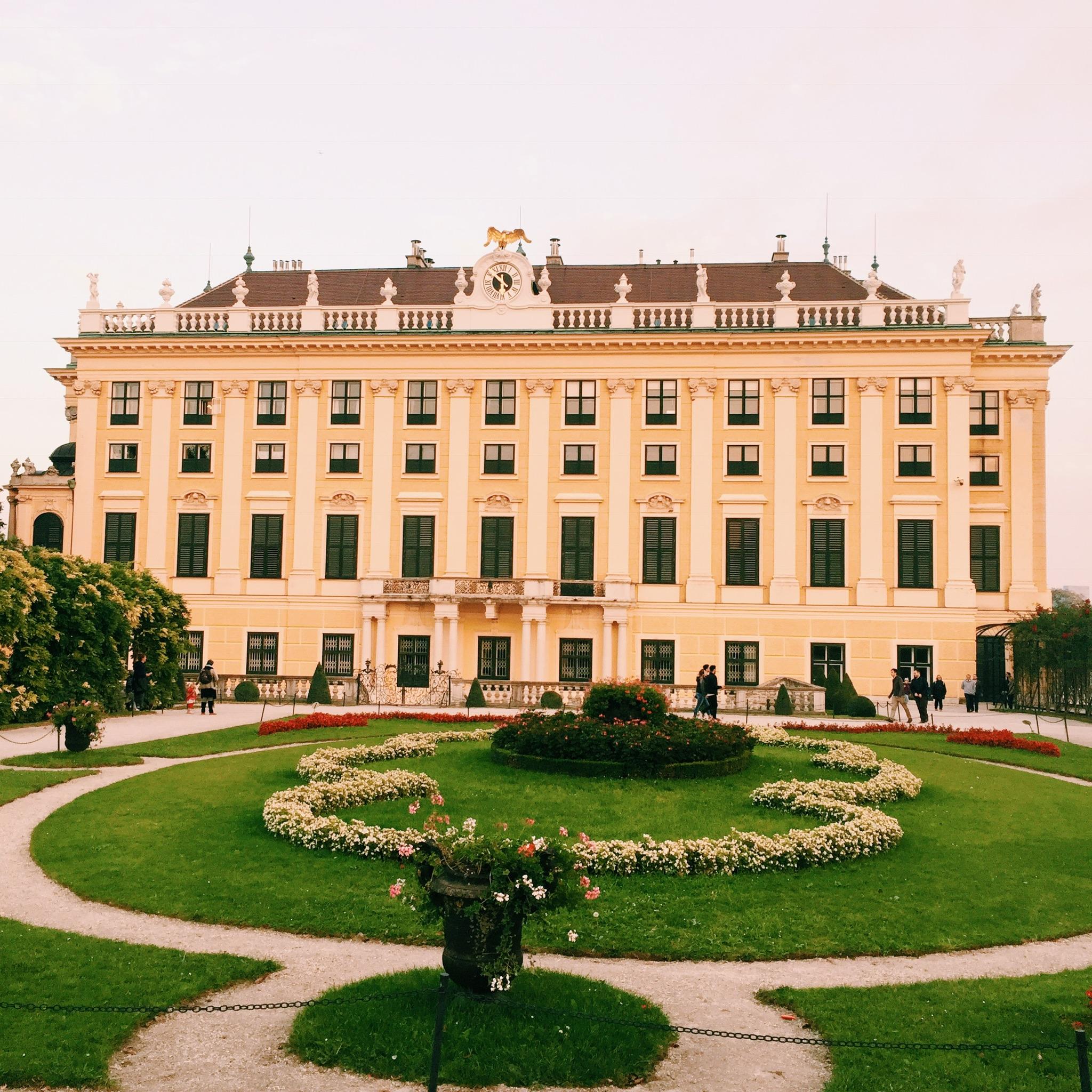 Besuch einer Modebloggerin aus Deutschland in Wien